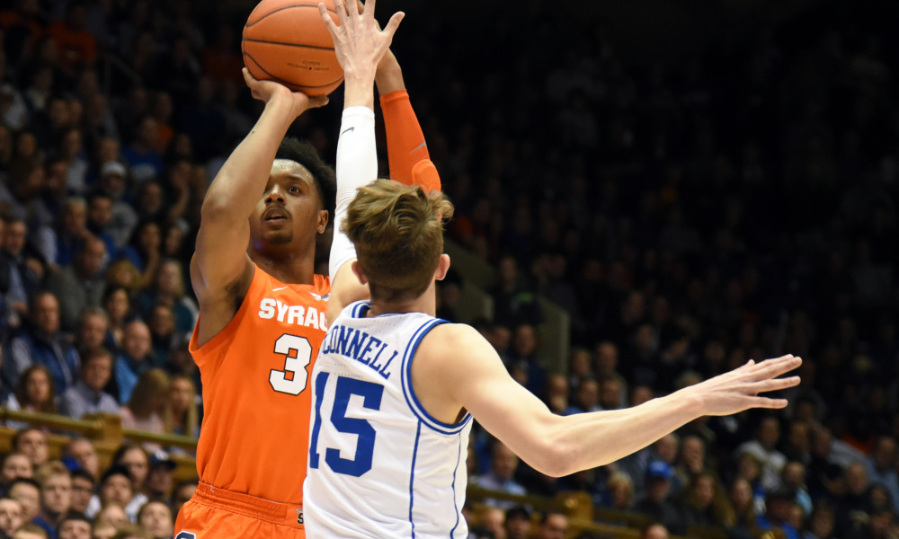 USP NCAA BASKETBALL: SYRACUSE AT DUKE S BKC DUK SYR USA NC